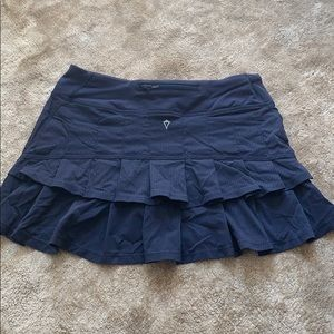 Navy Blue Ivivva Tennis Skirt with pleats size 2